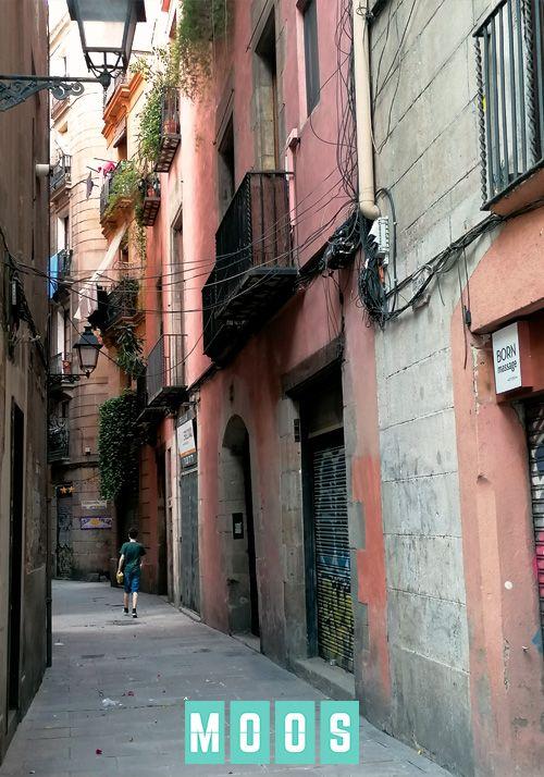 Carrer de Cotoners. Born. Barcelona.
